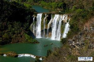 罗平旅游日志:九龙瀑布群