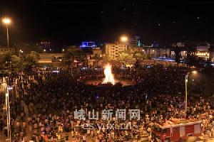 玉溪:峨山火把狂欢旅游节8月5日开启
