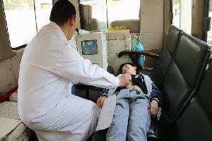 九龙街道以德完小336名学生享受健康体检