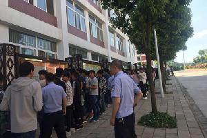 罗平职校举行禁毒宣传活动