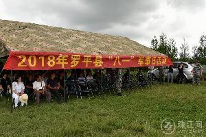 """罗平县开展2018年党政领导干部""""八一""""军事日活动"""